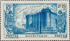 [The 150th Anniversary of French Revolution, type X4]