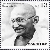 [The 150th Anniversary of the Birth of Mahatma Gandhi, 1869-1948, Typ AMI]
