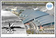 [The 75th Anniversary of the International Civil Aviation Organization, Typ AMJ]