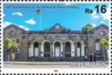 [The 150th Anniversary of the Central Post Office - Port Louis, type AMM]