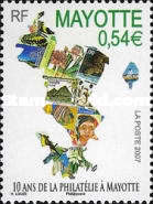 [The 10th Anniversary of the Re-issue of their Own Stamps, Typ EZ]