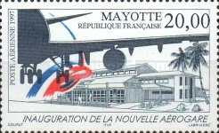 [Airmail - Inauguration of the New Airport, type F]