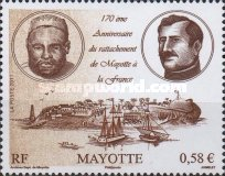 [The 170th Anniversary of the Annexation of Mayotte to France, type HA]