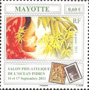 [Indian Ocean Stamp Exhibition - Mayotte, type HM]