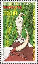 [Airmail - Cattle Egret, Typ P]