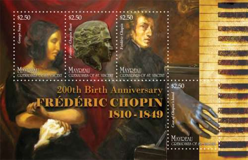 [The 200th Anniversary of the Birth of Federico Chopin, 1810-1849, type ]