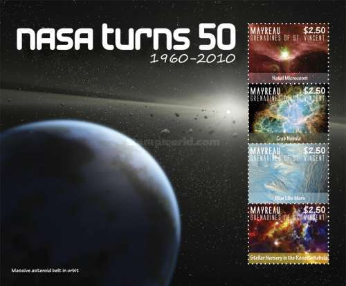 [Space Anniversaries - The 50th Anniversary of NASA, type ]
