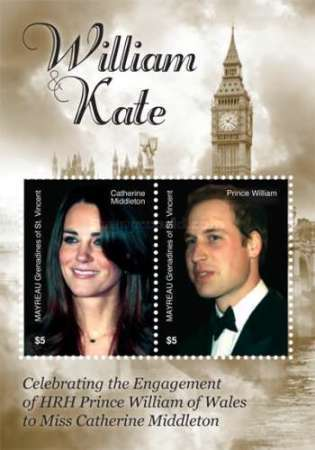 [Royal Engagement - Prince William and Catherine Middleton, type ]