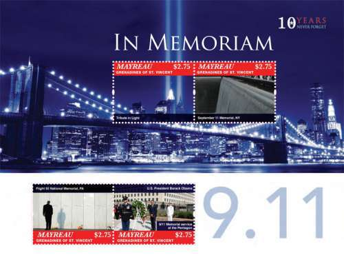 [The 10th Anniversary of the Terrorist Attack of September 11, type ]