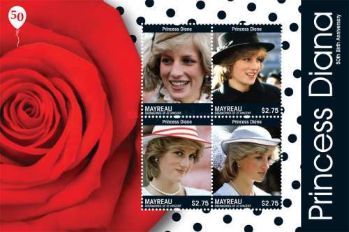 [The 50th Anniversary of the Birth of Princess Diana, type ]
