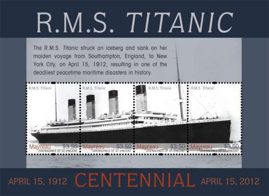 [The 100th Anniversary of the Titanic, type ]