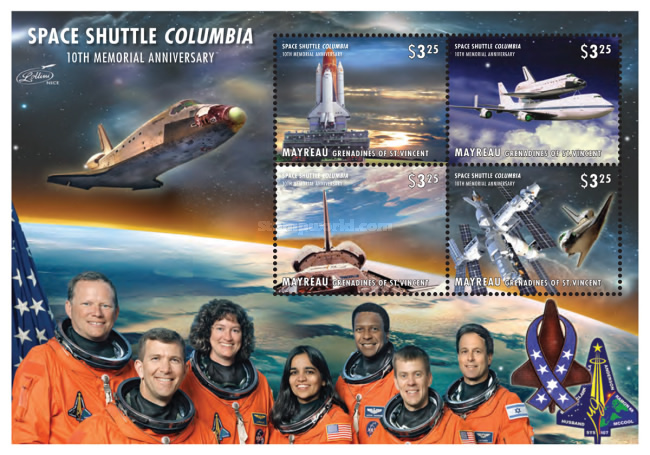 [The 10th Anniversary of the Space Shuttle Columbia Disaster, type ]