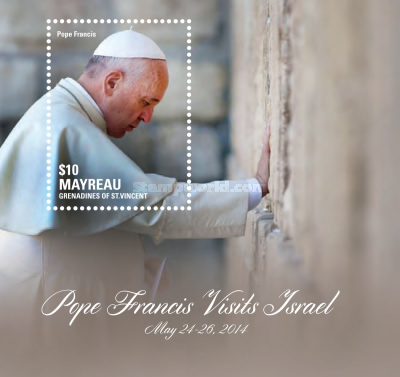 [Pope Francis Visits Israel, type ]