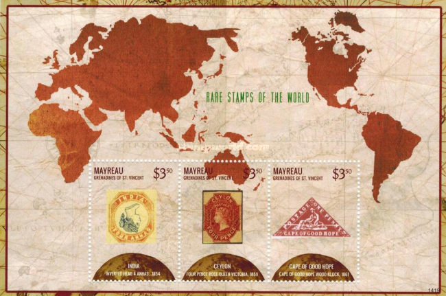 [Rare Stamps of the World, type ]