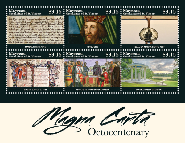 [The 800th Anniversary of the Magna Carta Documents, type ]