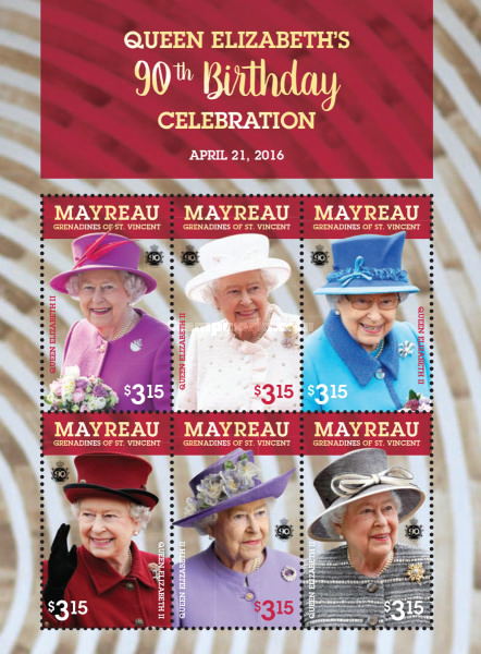 [The 90th Anniversary of the Birth of Queen Elizabeth II, type ]