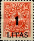 [Annexation of Memel to Lithuania Issue Surcharged, type AB11]