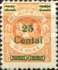 [No. 141-146, 148 & 150 Surcharged in Green or Red, type AC10]