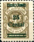 [No. 141-146, 148 & 150 Surcharged in Green or Red, type AC14]