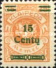 [No. 141-146, 148 & 150 Surcharged in Green or Red, type AC2]