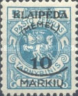 [Not Issued Lithuanian Official Stamps Overprinted & Surcharged, type P]
