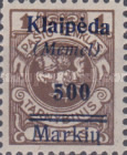 [Not Issued Lithuanian Official Stamps Overprinted & Surcharged -