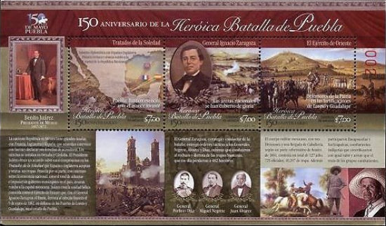 [The 150th Anniversary of the Heroic Battle of Puebla, type ]