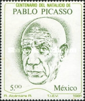 [The 100th Anniversary of the Birth of Pablo Picasso, 1881-1973, type BJK]
