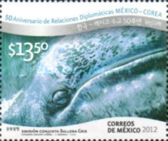 [Whales - The 50th Anniversary of Diplomatic Relations with Korea, type EDZ]