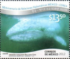 [Whales - The 50th Anniversary of Diplomatic Relations with Korea, type EEA]
