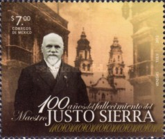 [The 100th Anniversary of the Death of Master Justo Sierra, type EFZ]