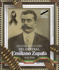 [The 100th Anniversary of the Death of Emiliano Zapata, 1879-1919, type EUX]