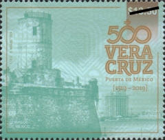 [The 500th Anniversary of the City of Veracruz, Typ EUY]