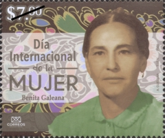 [International Women's Day - Benita Galeana, 1903-1995, type EVQ]