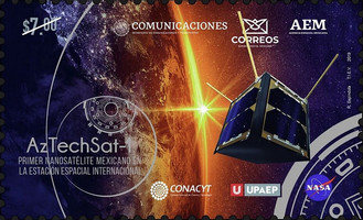 [Aztechsat-1 - The First Mexican Nanosatellite on the International Space Station, type EVR]