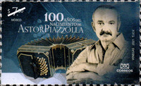 [The 100th Anniversary of the Birth of Astor Piazzolla, 1921-1992, type EXH]