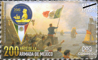 [The 200th Anniversary of the Mexican Navy, type EXK]