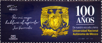 """[The 100th Anniversar of the Shield and Motto """"For My Race the Spirit will Speak"""", type EXU]"""