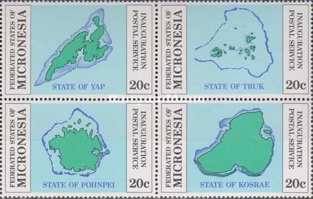 [Inauguration of Postal Independence - Maps, Typ ]