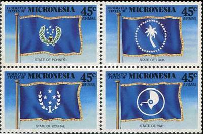 [Airmail - State Flags, type ]