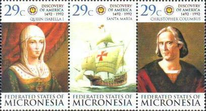 [The 500th Anniversary of the Discovery of America by Christopher Columbus, Typ ]