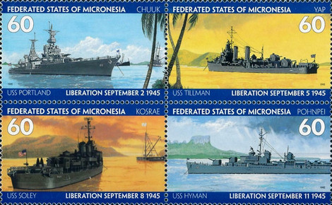 [The 50th Anniversary of the End of the Second World War - Liberation of Micronesia, type ]