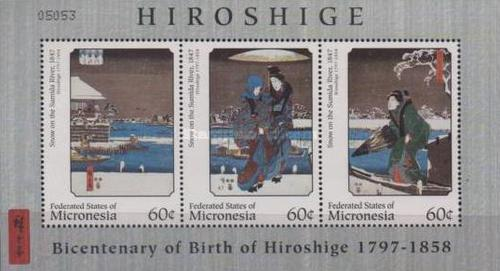 [The 200th Anniversary of the Birth of Hiroshige Ando, 1797-1858, Typ ]