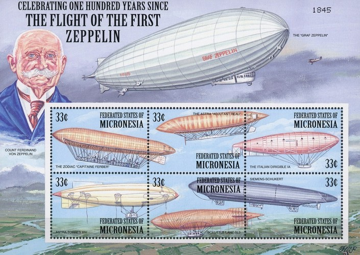 [The 100th Anniversary of the First Zeppelin Flight and Airship Development, Typ ]