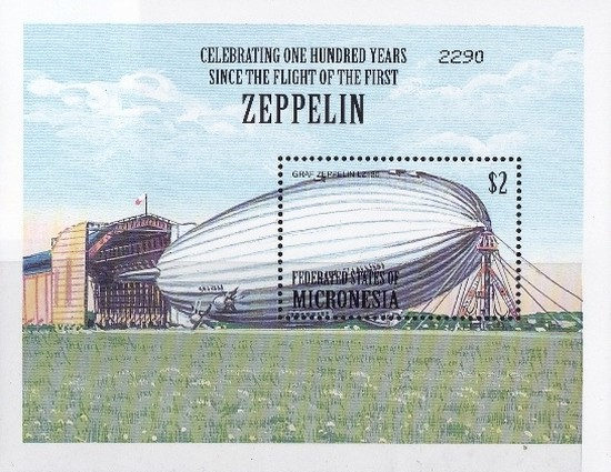 [The 100th Anniversary of First Zeppelin Flight and Airship Development, Typ ]