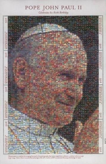 [The 80th Anniversary of the Birth of Pope John Paul II, Typ ]