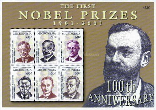 [The 100th Anniversary of the First Nobel Prize, type ]