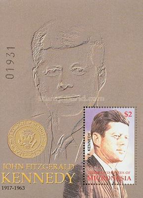 [The 85th Anniversary of the Birth of John Fitzgerald Kennedy, USA President 1961-1963, 1917-1963, Typ ]