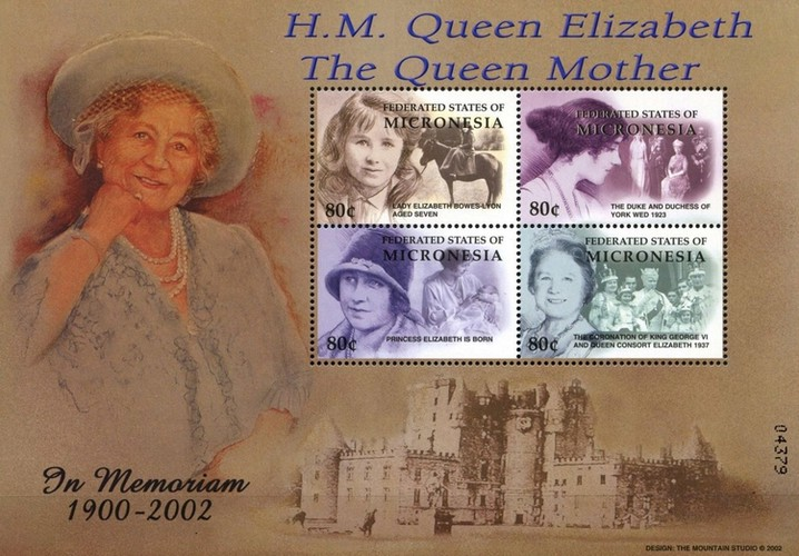 [Queen Elizabeth, the Queen Mother Commemoration, type ]