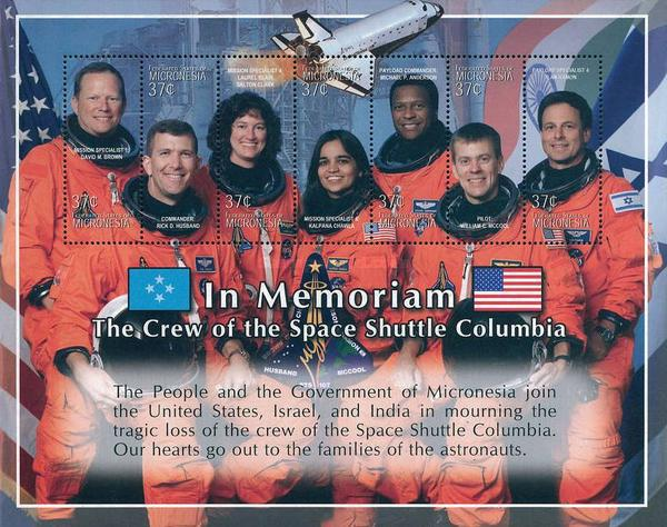 [Colombia Space Shuttle Disaster, 1 February 2003 - Crew Members, type ]